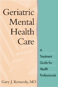 Cover Geriatric Mental Health Care