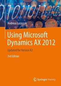 Cover Using Microsoft Dynamics AX 2012