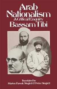 Cover Arab Nationalism