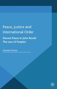 Cover Peace, Justice and International Order