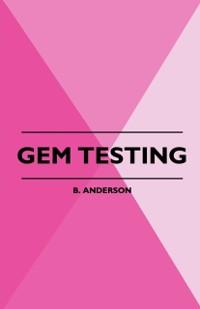 Cover Gem Testing
