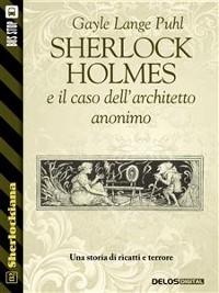 Cover Sherlock Holmes e il caso dell'architetto anonimo