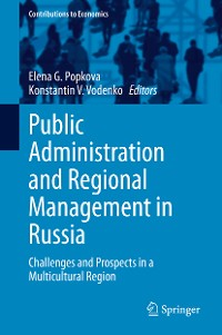 Cover Public Administration and Regional Management in Russia
