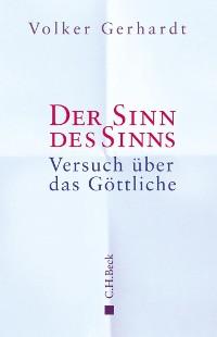 Cover Der Sinn des Sinns