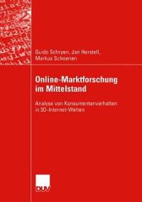 Cover Online-Marktforschung im Mittelstand