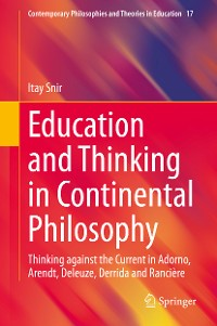 Cover Education and Thinking in Continental Philosophy
