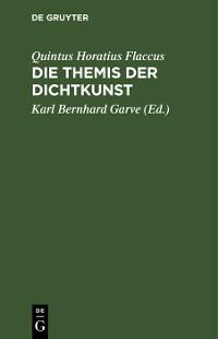 Cover Die Themis der Dichtkunst