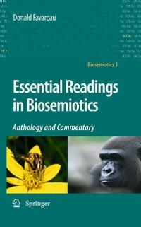 Cover Essential Readings in Biosemiotics