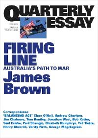 Cover Quarterly Essay 62 Firing Line