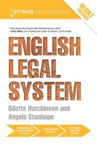 Cover Optimize English Legal System
