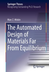 Cover The Automated Design of Materials Far From Equilibrium