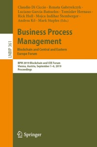 Cover Business Process Management: Blockchain and Central and Eastern Europe Forum