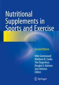 Cover Nutritional Supplements in Sports and Exercise