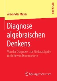 Cover Diagnose algebraischen Denkens