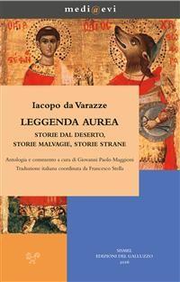 Cover Leggenda  aurea. Storie dal deserto, storie malvagie, storie strane