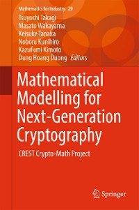 Cover Mathematical Modelling for Next-Generation Cryptography
