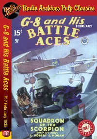 Cover G-8 and His Battle Aces #17 February 193