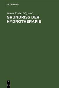 Cover Grundriss der Hydrotherapie