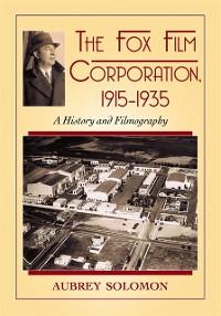 Cover Fox Film Corporation, 1915-1935
