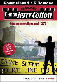 Cover Jerry Cotton Sammelband 21 - Krimi-Serie