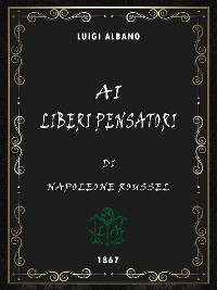 Cover Ai liberi pensatori