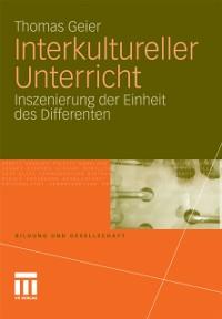Cover Interkultureller Unterricht