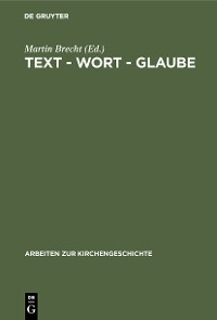 Cover Text - Wort - Glaube