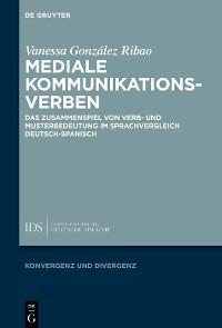 Cover Mediale Kommunikationsverben