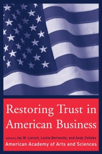Cover Restoring Trust in American Business