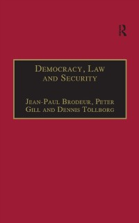 Cover Democracy, Law and Security
