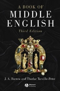 Cover A Book of Middle English