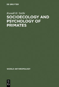 Cover Socioecology and Psychology of Primates