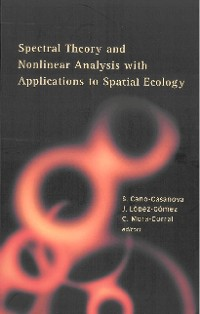 Cover Spectral Theory And Nonlinear Analysis With Applications To Spatial Ecology