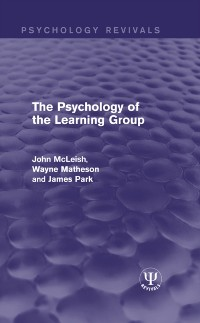 Cover Psychology of the Learning Group
