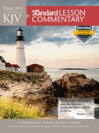 Cover KJV Standard Lesson Commentary 2018-2019