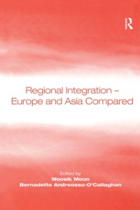 Cover Regional Integration - Europe and Asia Compared