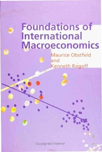 Cover Foundations of International Macroeconomics