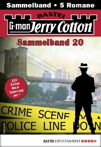 Cover Jerry Cotton Sammelband 20 - Krimi-Serie