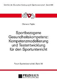 Cover Sportbezogene Gesundheitskompetenz