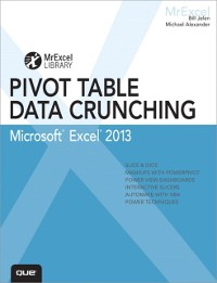 Cover Excel 2013 Pivot Table Data Crunching