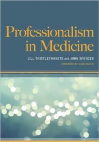 Cover Professionalism in Medicine