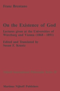 Cover On the Existence of God