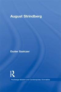 Cover August Strindberg