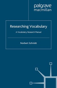 Cover Researching Vocabulary