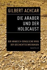 Cover Die Araber und der Holocaust