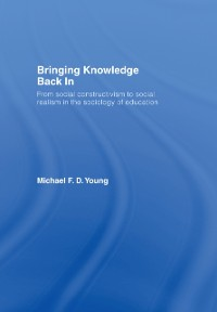 Cover Bringing Knowledge Back In