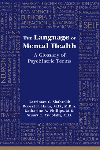 Cover The Language of Mental Health