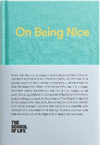 Cover On Being Nice