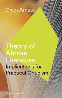 Cover Theory of African Literature