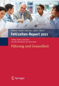 Cover Fehlzeiten-Report 2011